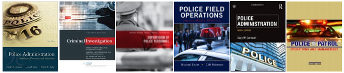 police promotion exams from your textbooks