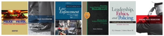textbook exams police supervision and management
