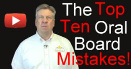 Top Ten Police Oral Board Mistakes