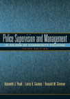 Police Supervision and Management: In An Era of Community Policing exam online