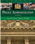 promotion exam online for Police Administration - Gaines, Worrall